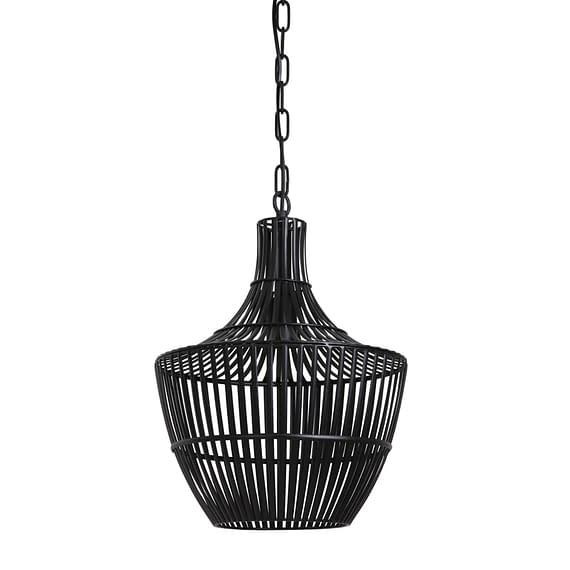 Hanglamp Stella - Mat Zwart - Ø38 x 46 cm