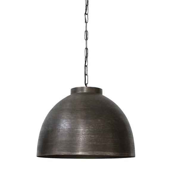 Hanglamp KYLIE - Donker Ruw Nikkel - XL
