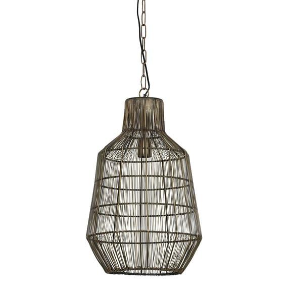 Hanglamp HAISEY - Antiek-Brons