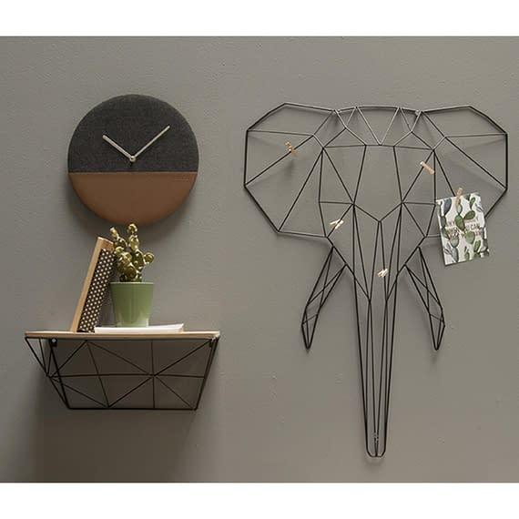 - Memo rack Linea Elephant black