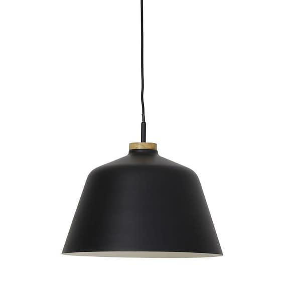 Hanglamp Ø40x34 cm BANU zwart