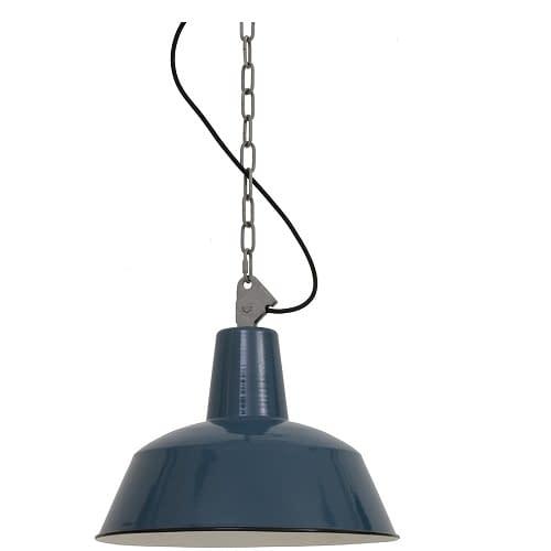 Blauwe hanglamp - 1000650