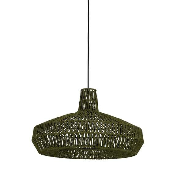 Hanglamp Ø59x35 cm MASEY groen