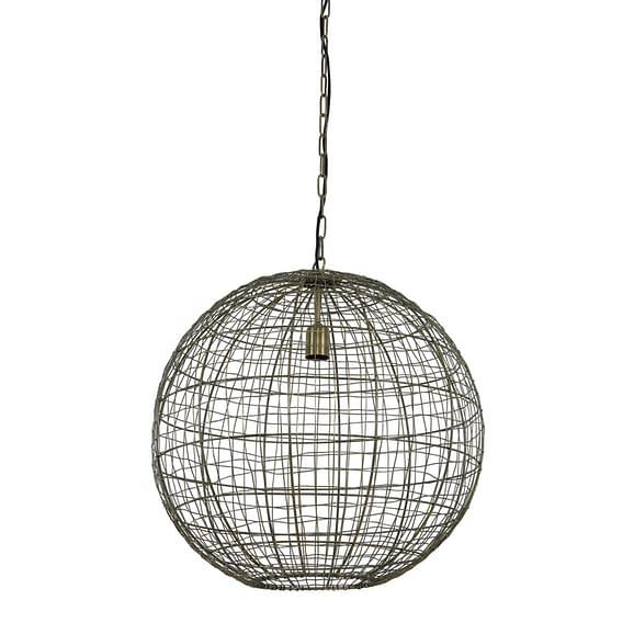 Hanglamp Mirana - Antiek Brons - Ø55 x 55 cm
