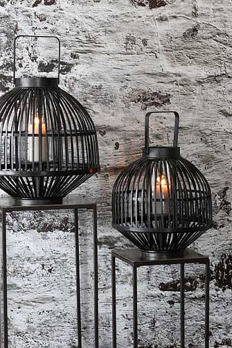 kerst verlanglijstje - Windlicht Gozo zwart