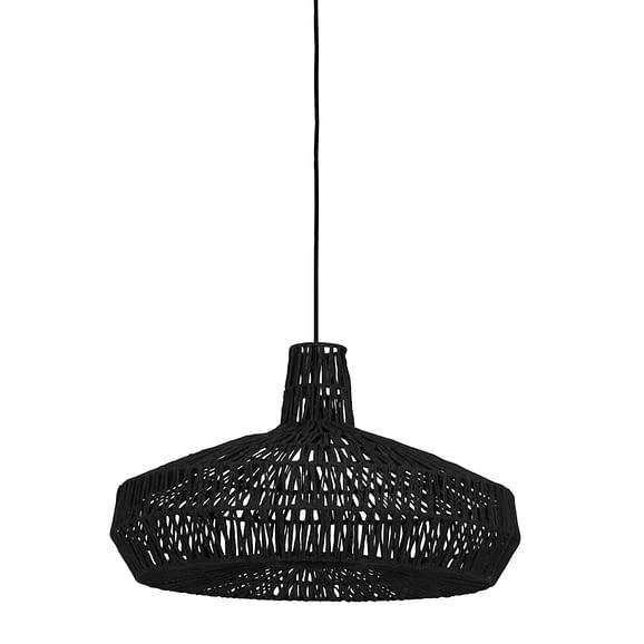 Hanglamp Ø59x35 cm MASEY zwart