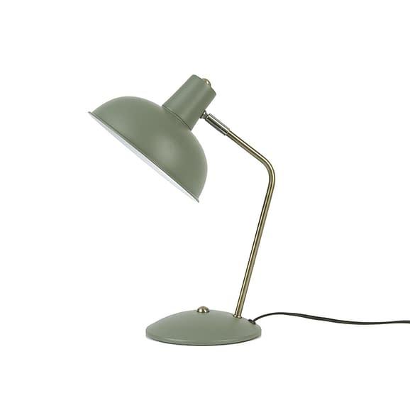 Leitmotiv - Tafellamp Hood - IJzer mat Jungle Groen - 37