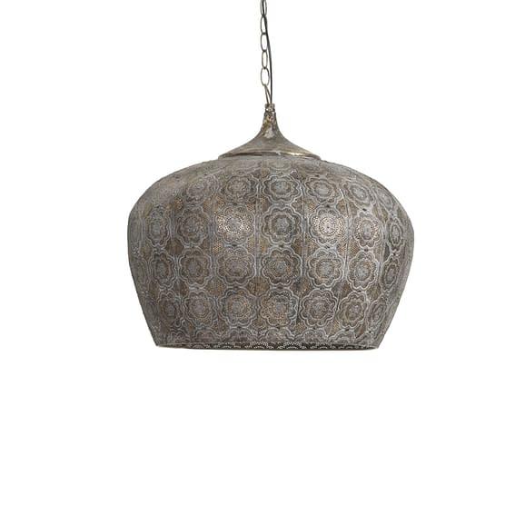 Hanglamp EMINE - Bruin Goud - L