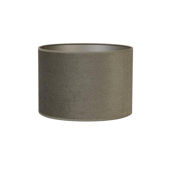 Cilinder lampenkap Vandy - Olive - Ø40x30 cm