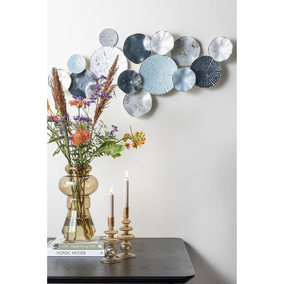 - Wall art Circles XL blue
