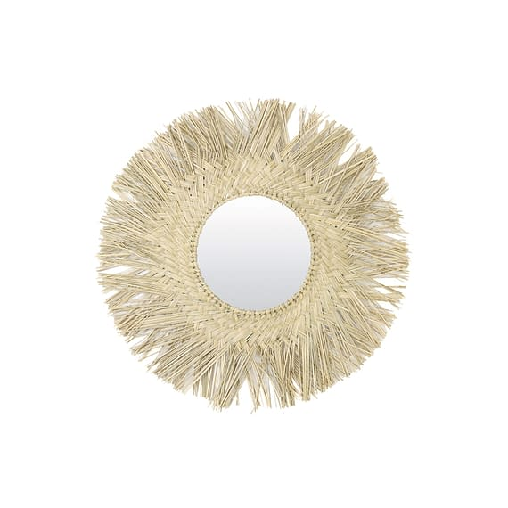 Spiegel Omima - Naturel - Ø75 cm