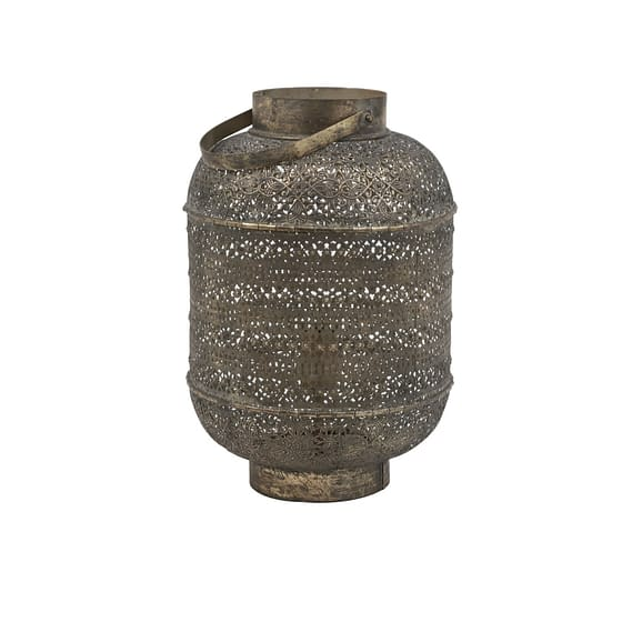 Tafellamp UDUPI - Bruin Goud - M