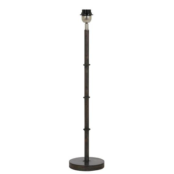 Lampvoet PHUKET - zwart zink - M