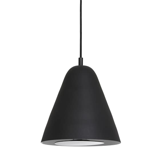 Hanglamp Sphere - Zwart - Ø25x27 cm