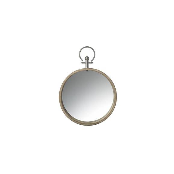 Parlane - Spiegel Compass - Bruin Hout - 38 x 52 x 5 cm