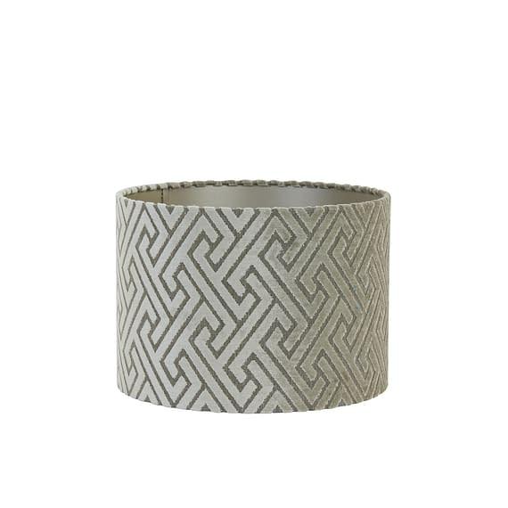 Cilinder lampenkap Maze - Taupe - Ø30x21 cm