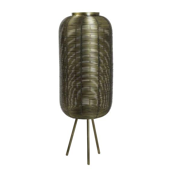 Tafellamp Ø25x70 cm TOMEK antiek brons