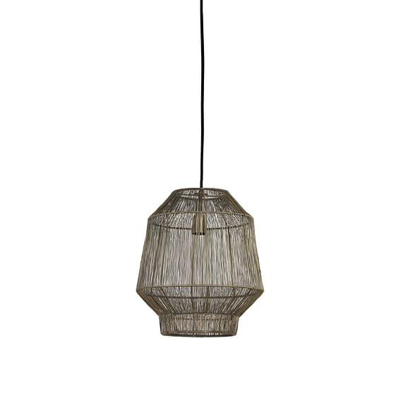 Hanglamp Ø26x30 cm VITORA antiek brons