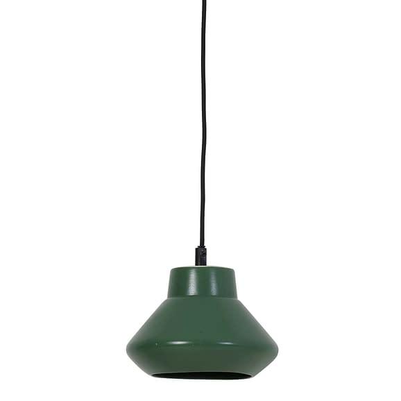 Hanglamp Ø23x19 cm SARINA keramiek mat groen