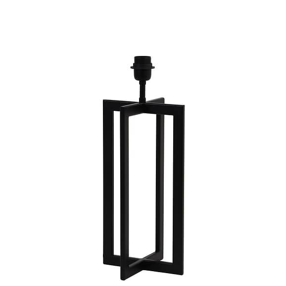 Lampvoet 46 cm MACE mat zwart