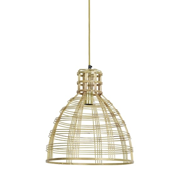 Hanglamp Ø42x44 cm MENULA goud