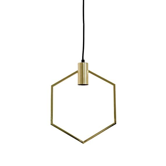 Hanglamp 30x37 cm AINA goud
