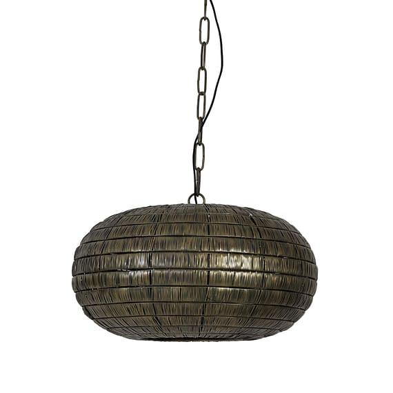 Hanglamp Ø55x34 cm KYMORI antiek brons