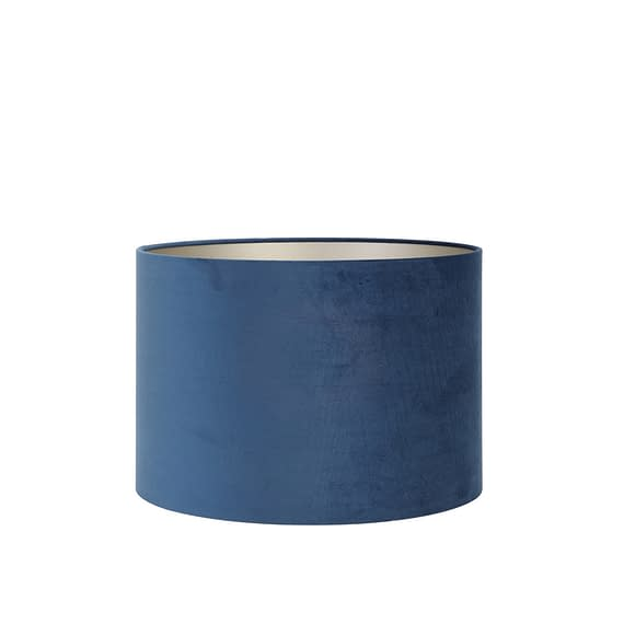 Kap cilinder 50-50-38 cm VELOURS petrol blue