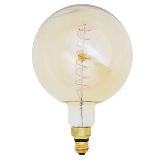 Deco LED globe Ø20x28 cm LIGHT 4W amber E27 dimbaar