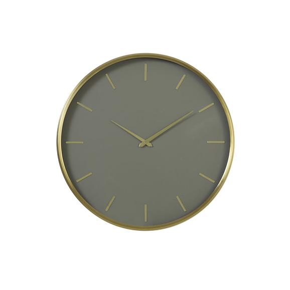 Klok Timora - Groen - Ø51x3 cm
