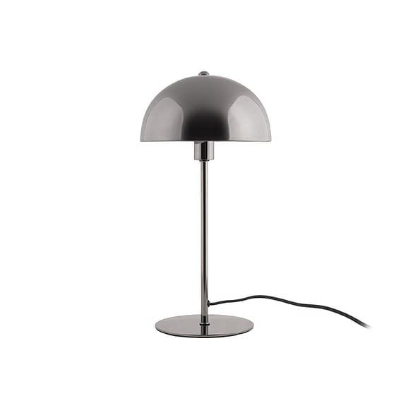 Grijs Tafellamp Bonnet - Metaal Grijs - 39x20cm
