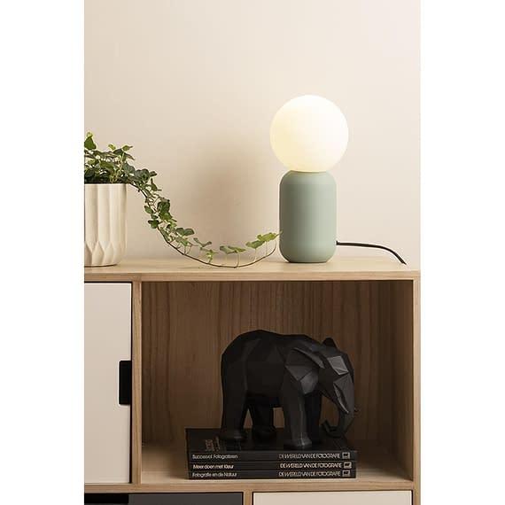 - Statue Origami Elephant polyresin matt black