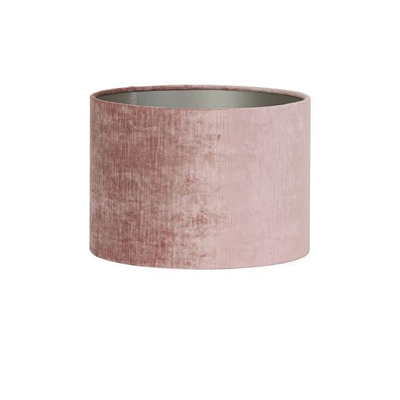 Kap cilinder 50-50-38 cm GEMSTONE oud roze