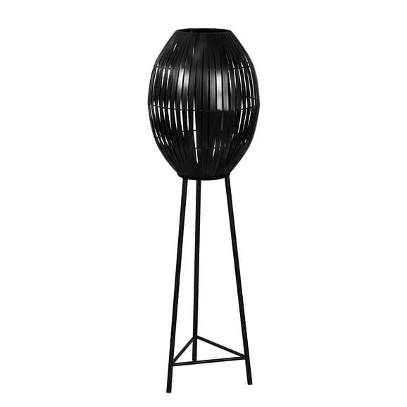 Vloerlamp Ø42x137 cm KYOMI mat zwart