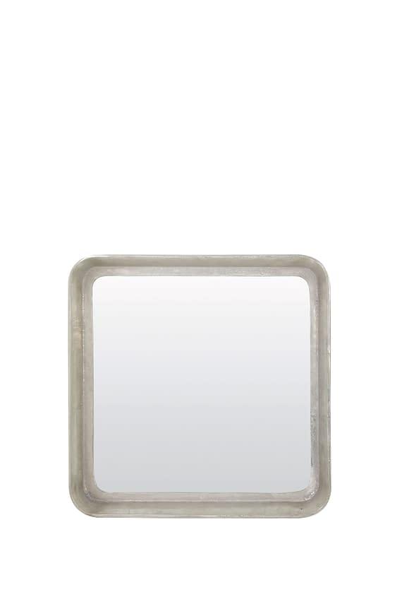 Light & Living Spiegel Smile - Nikkel - 69x10 cm