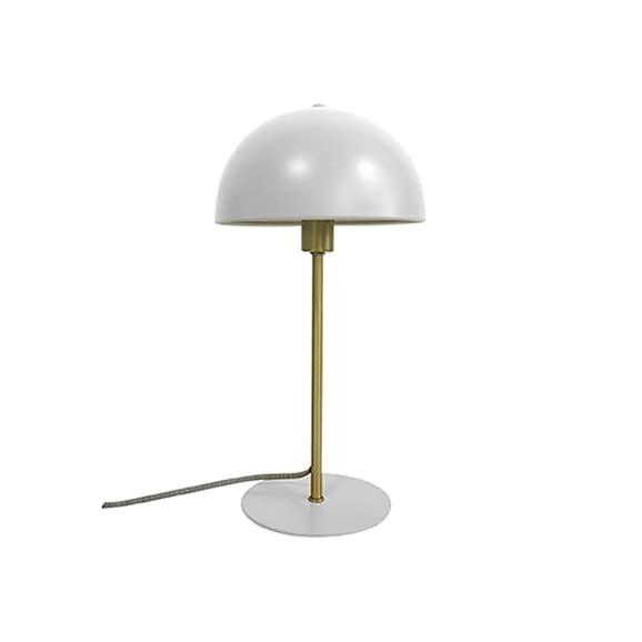 Leitmotiv - Tafellamp Bonnet - Metaal Wit - 20x20x39cm
