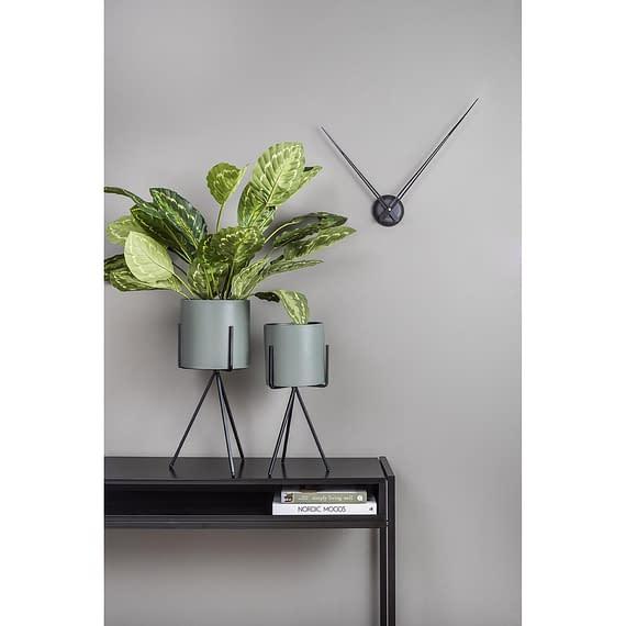 - Plant pot set Pedestal XL iron matt jungle green