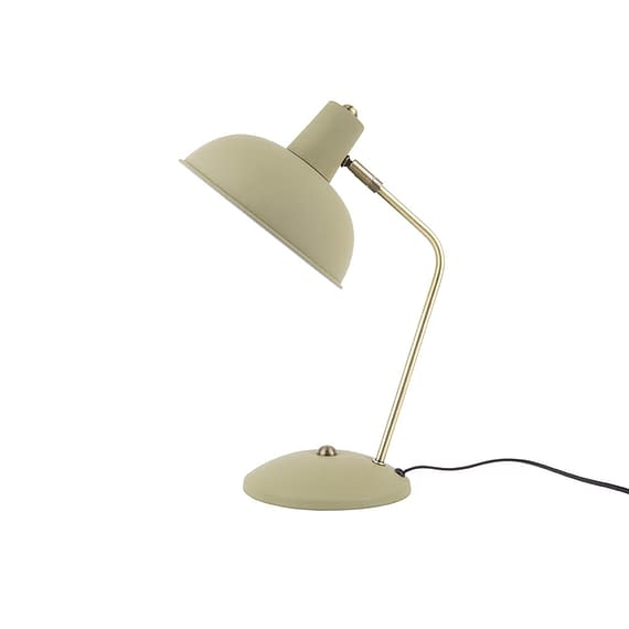 Leitmotiv - Tafellamp Hood - Metaal mat Olijf Groen - 37