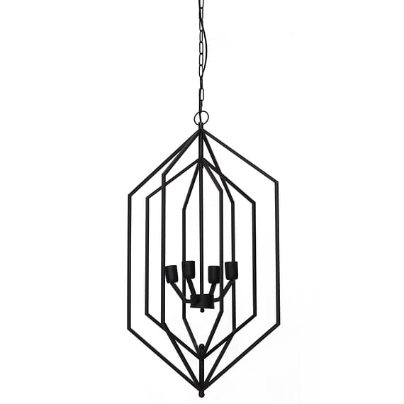 Hanglamp ANASTASIA - mat zwart