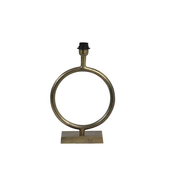 Lampvoet 30x42 cm LIVA ruw antiek brons