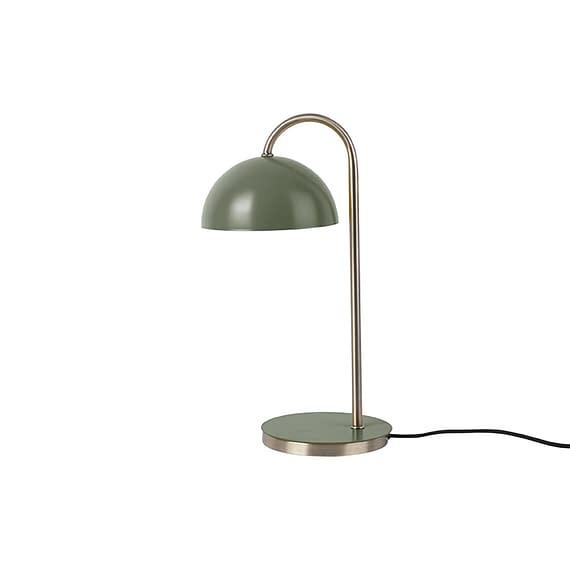 Leitmotiv - Tafellamp Dome - IJzer mat Jungle Groen - 20x14x36