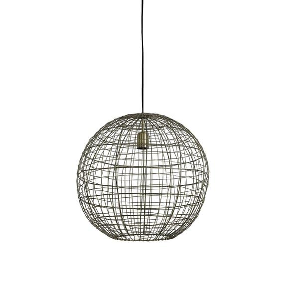 Hanglamp Mirana - Antiek Brons - Ø46 x 43 cm
