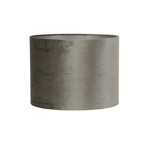 Kap cilinder 35-35-34 cm ZINC taupe