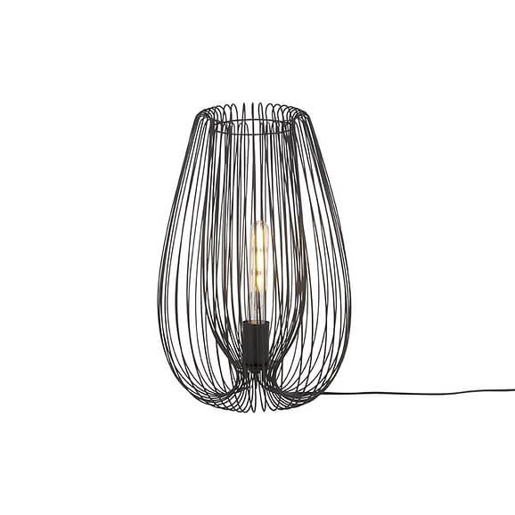 Leitmotiv - Tafellamp Lucid - IJzer Zwart - Large - 45x30cm