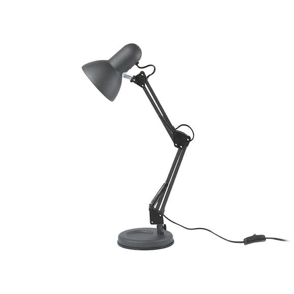 Zwart Bureaulamp Hobby - Staal Zwart - 55x12