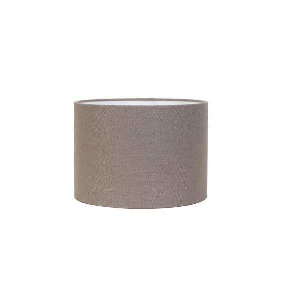 Cilinder lampenkap Livigno - Lever - Ø40x30 cm