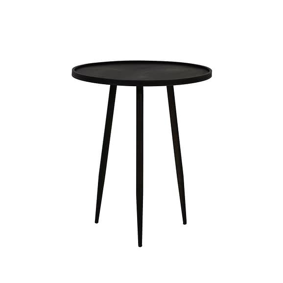 Bijzettafel Envira - Zink - Ø51x60 cm