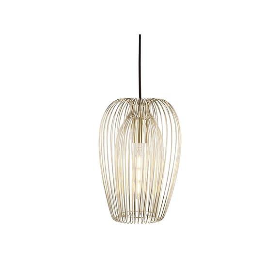 Goud Hanglamp Lucid - IJzer Verguld - Large - 45x30cm
