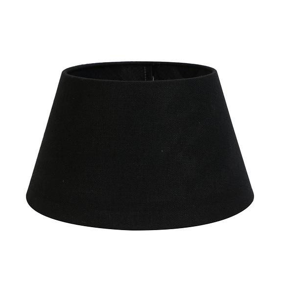 Kap drum 40-30-22 cm LIVIGNO zwart