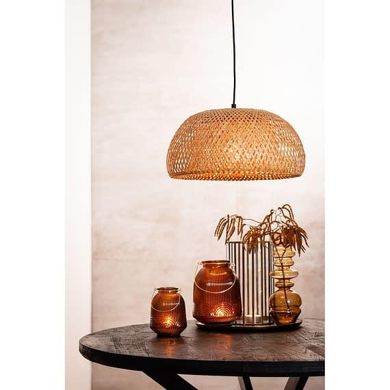 Hanglamp Timeo - Bamboe Naturel - Ø44x24 cm